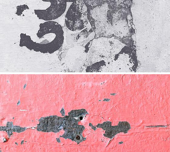 Texturas de Parede Antiga
