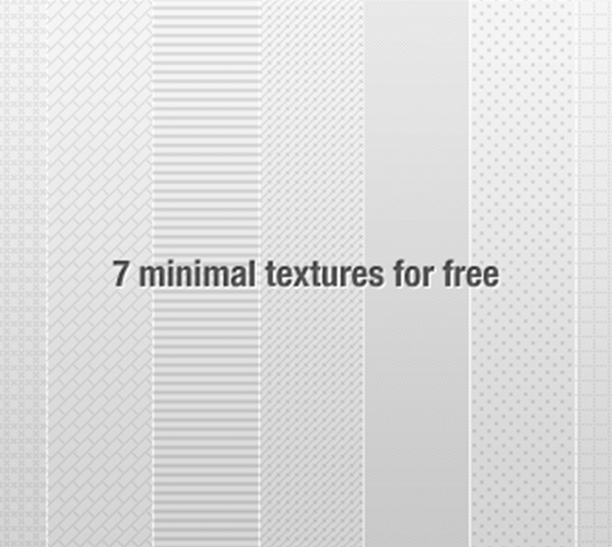 7 Texturas minimalitas