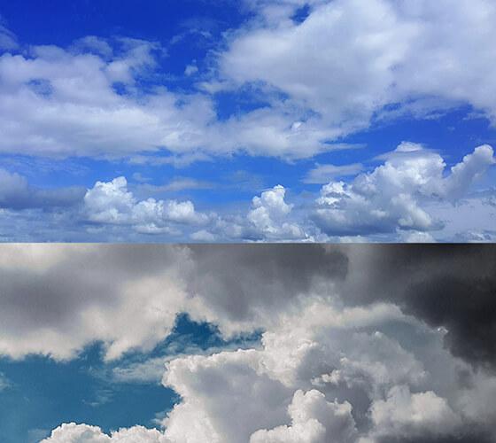 Imagens de Nuvens em HD