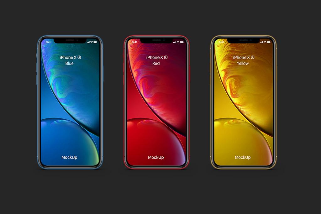 342964 mockup iphone xr free psd download gratis designer mao de vaca 2