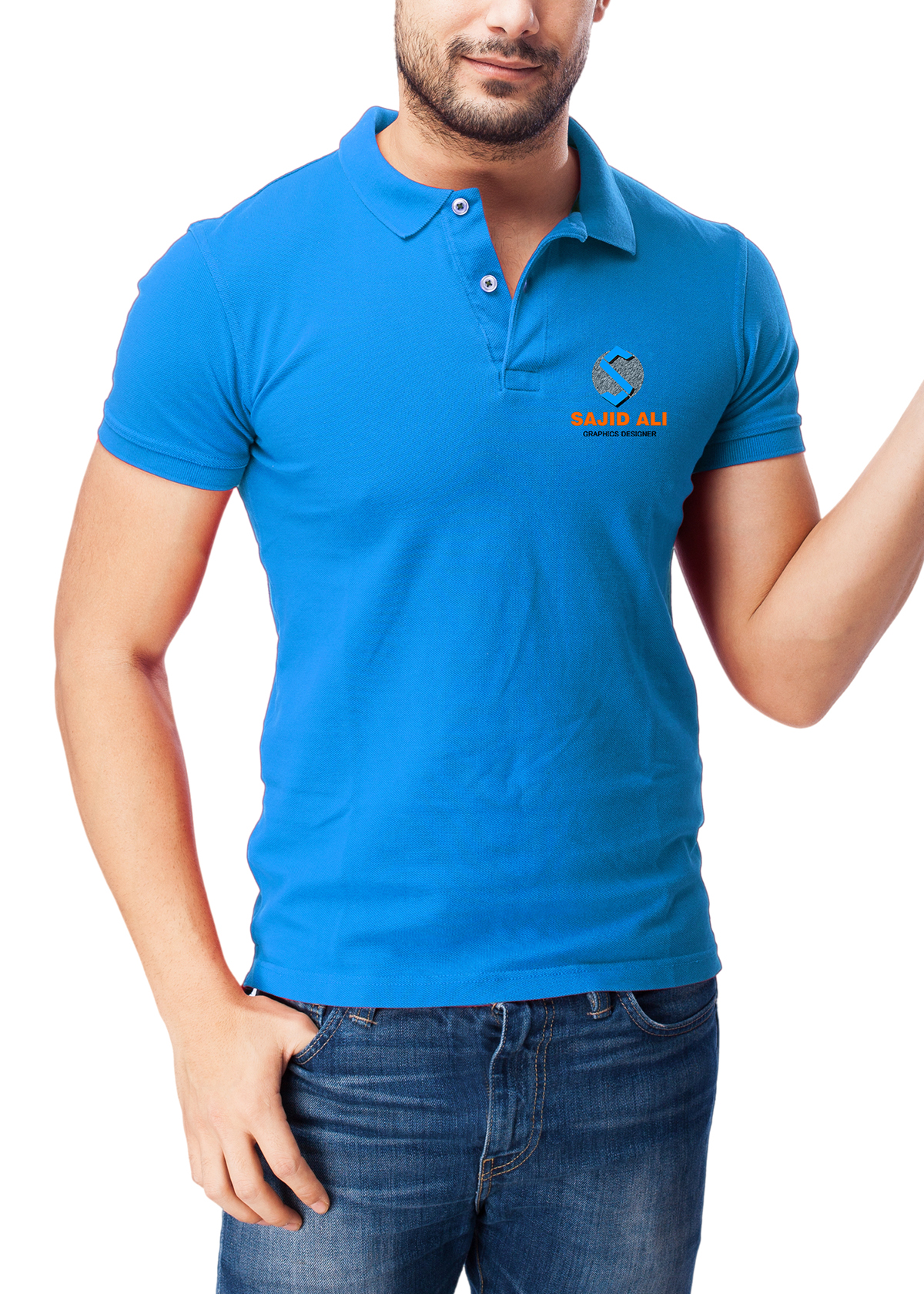 Mockup Camiseta Polo a54192856641a