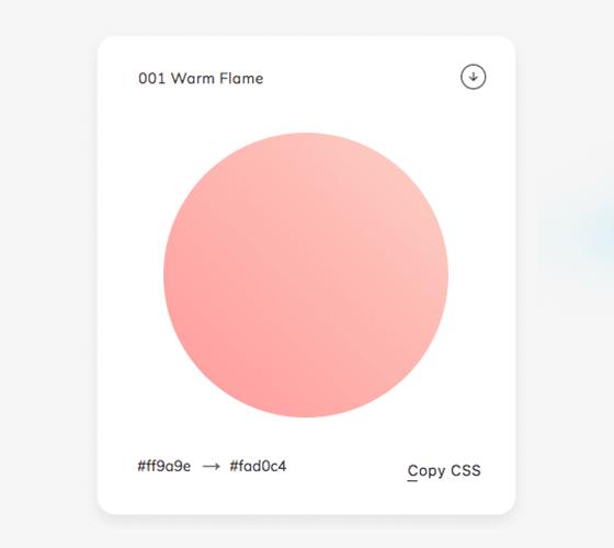 Web Gradients, uma coleção incrível de gradientes para você usar