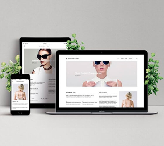 Mockup Apresentação web