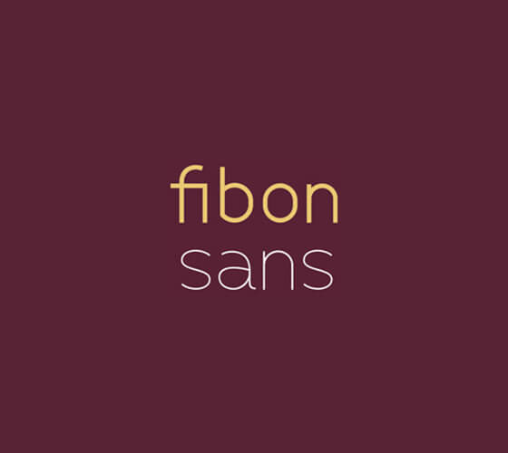 Fibon Sans