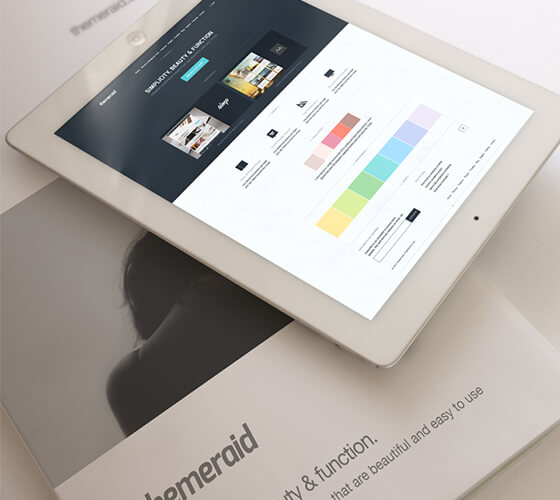 Mockup iPad e revista