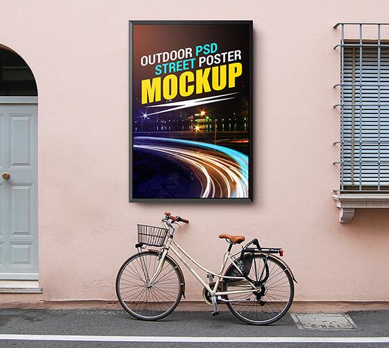 Mockup de Poster/Cartaz