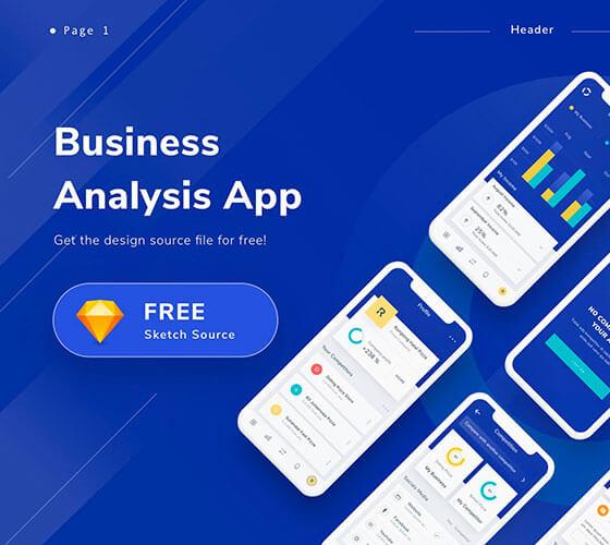 Clean Mobile App Design UI Kit