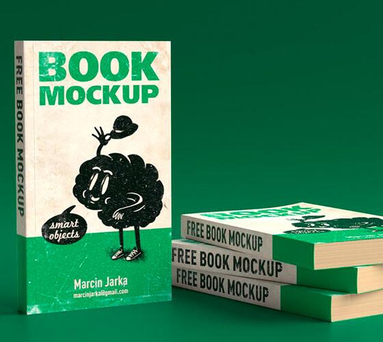 Mockup de livro #5