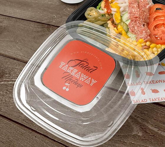 Mockup Embalagem para comida