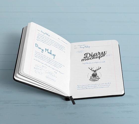 Mockup Sketchbook #7