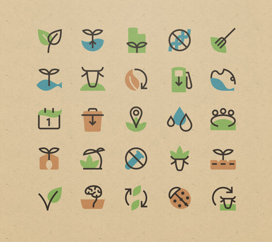Ícones Sustentáveis