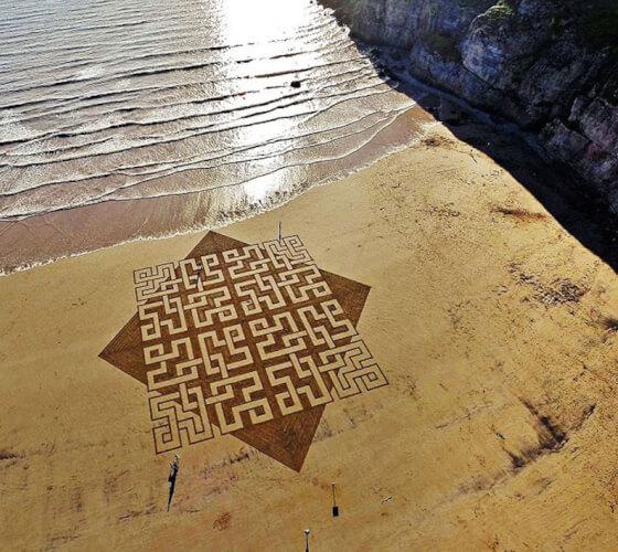 Obras na areia, Julian Richardson