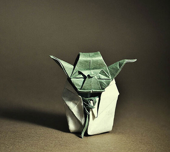 Incríveis origamis de Gonzalo Garcia Calvo