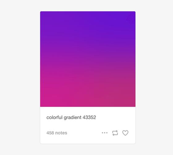 Colorful Gradients, a incrível máquina que gera lindos gradientes