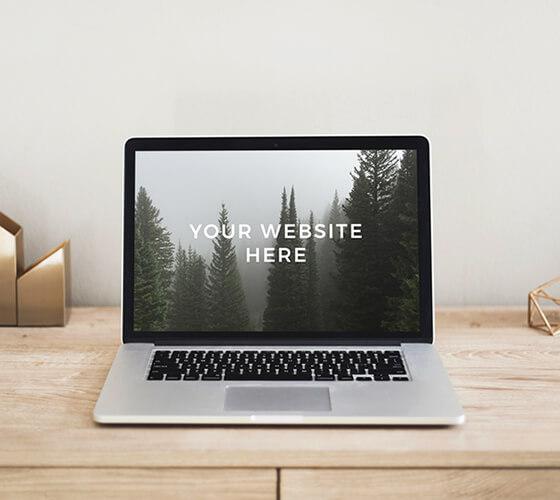 Mockup Macbook #12