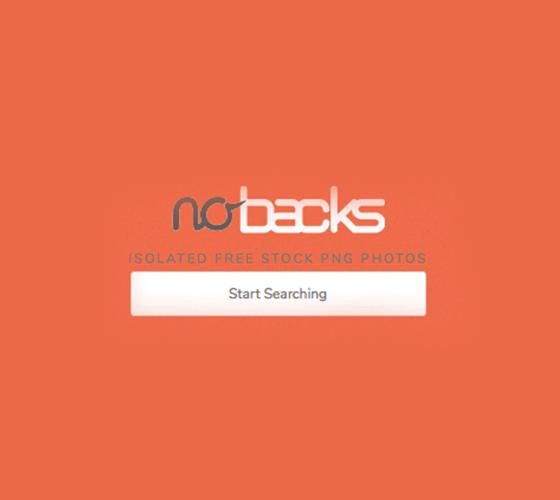 Nobacks, banco de imagem PNG
