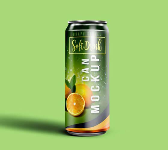 Mockup Lata de bebida #5