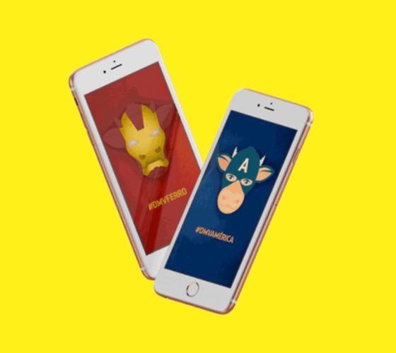 Mockup animado iPhone