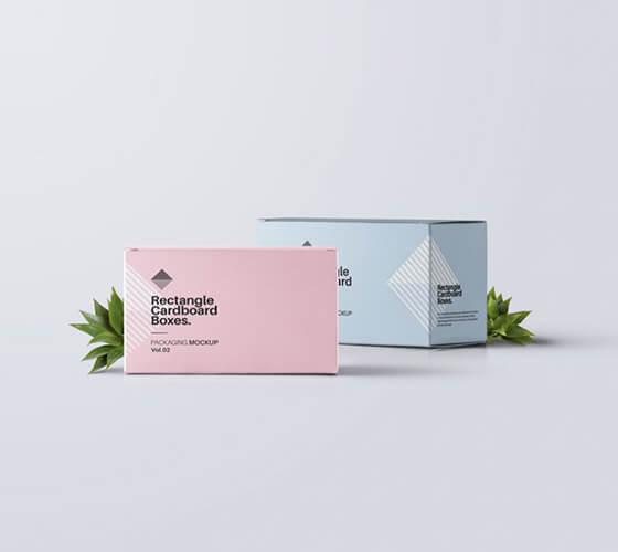 Mockup caixa de cartão de visita