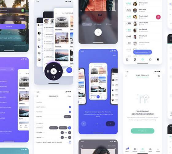 Atro UI Kit para Aplicativos