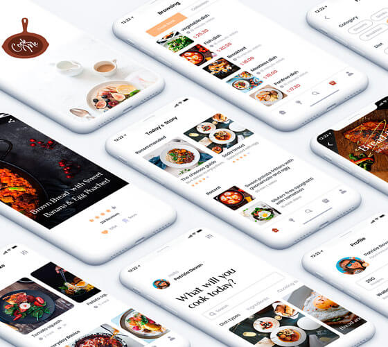 UI Kit App Receita