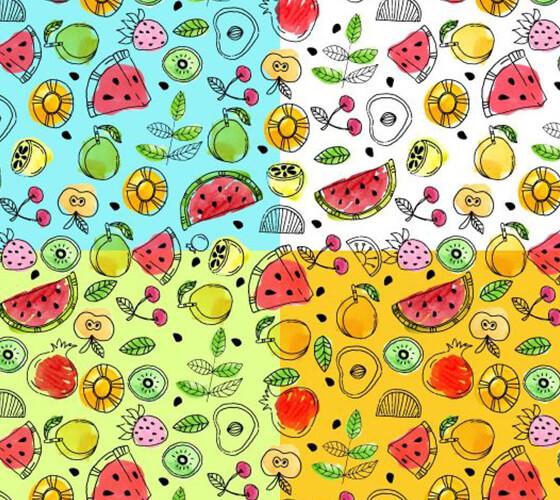 Patterns de Frutas