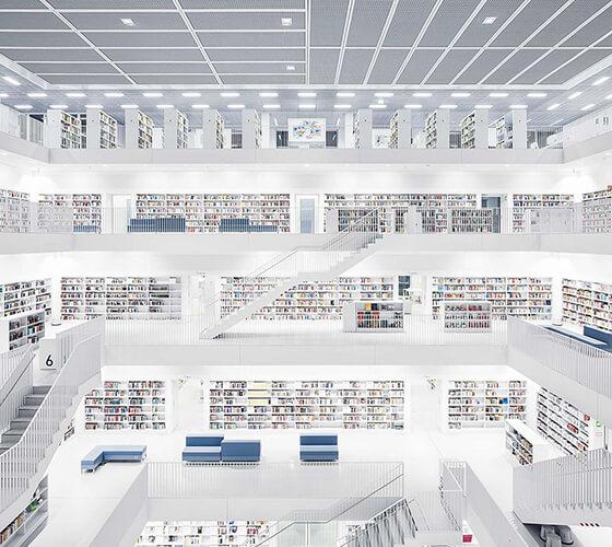 Bibliotecas europeias, por Thibaud Poirier
