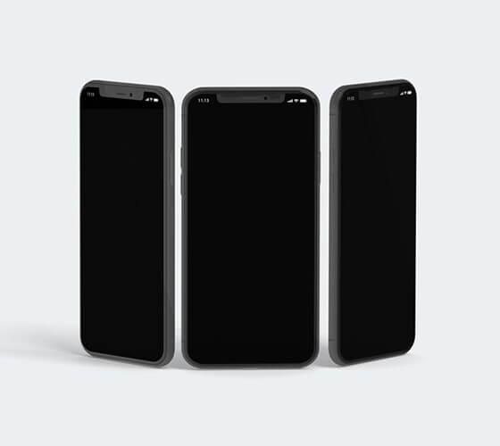 Mockup iPhone X #18