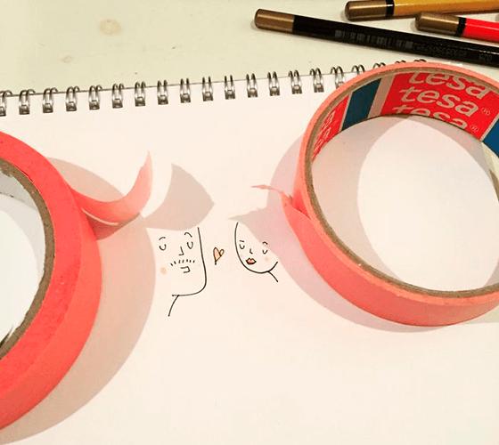 Desenhos com sombras, Flavio Salsano