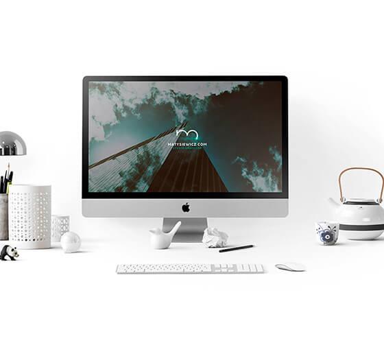 Mockup iMac #7