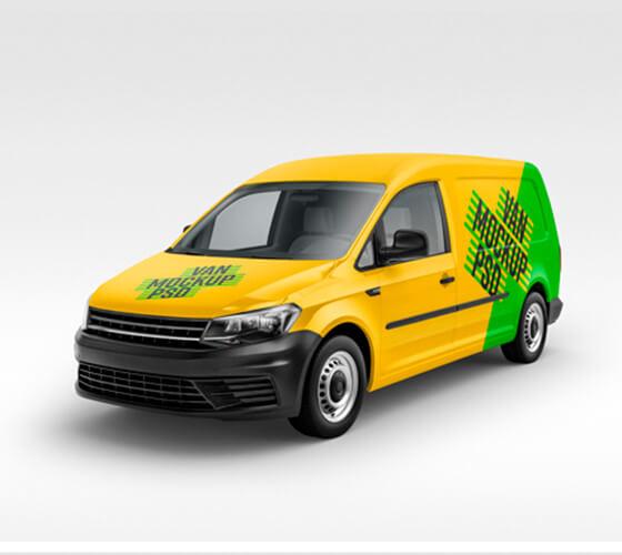 Mockup Van de carga #3