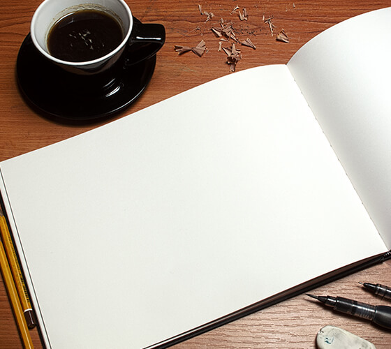 Mockup de art book