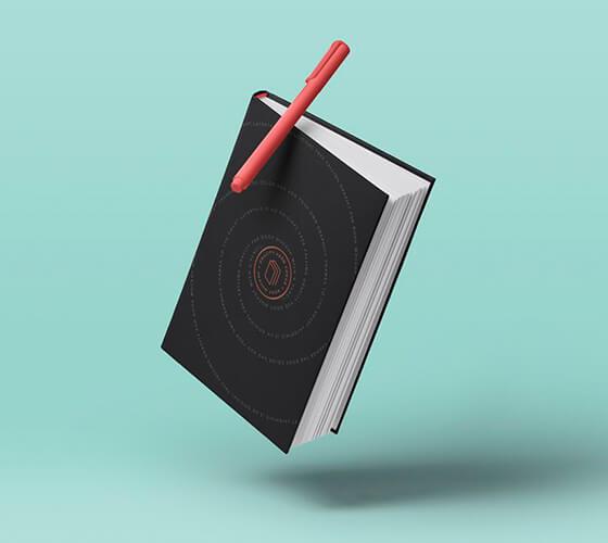 Mockup Livro capa dura #8