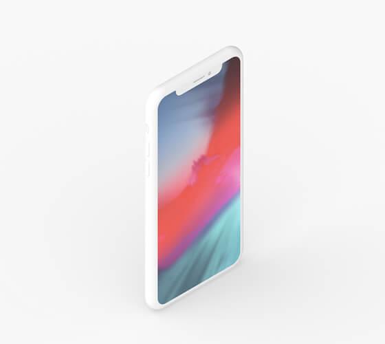 Mockup iPhone X #20