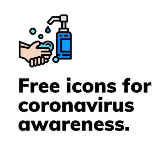 Pack de ícones Coronavirus