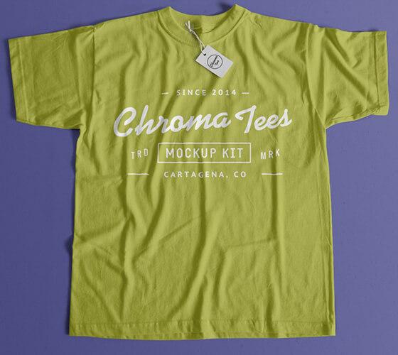 Mockup de camiseta #3