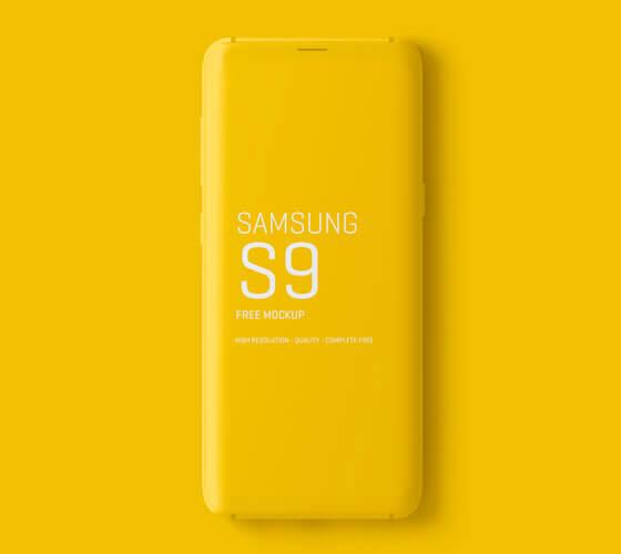 Mockup Samsung Galaxy S9