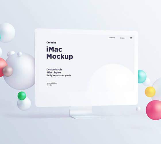 Mockup iMac #10