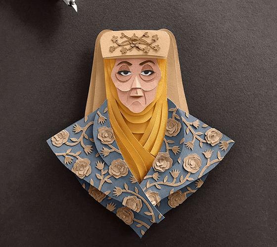 As incríveis ilustrações feitas apenas com papel e estilete