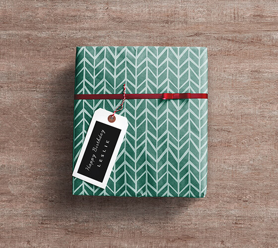 Mockup Caixa de Presente