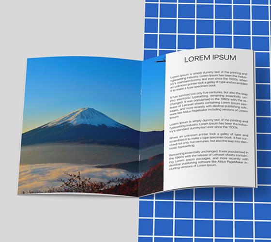 Mockup Brochura A4
