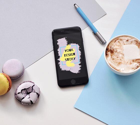 Mockup iPhone SE 2020