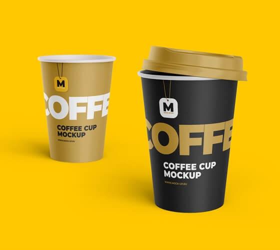 Mockup Copo de papel para café #4