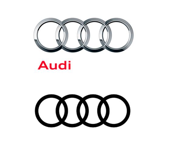 Audi anuncia novo logo no estilo Flat