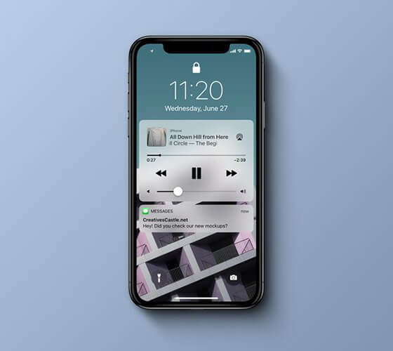 Mockup iPhone X #21