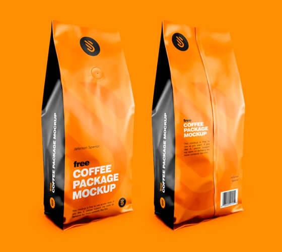 Mockup Emgalagem para café #2