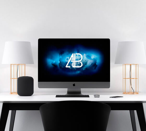Mockup iMac #4