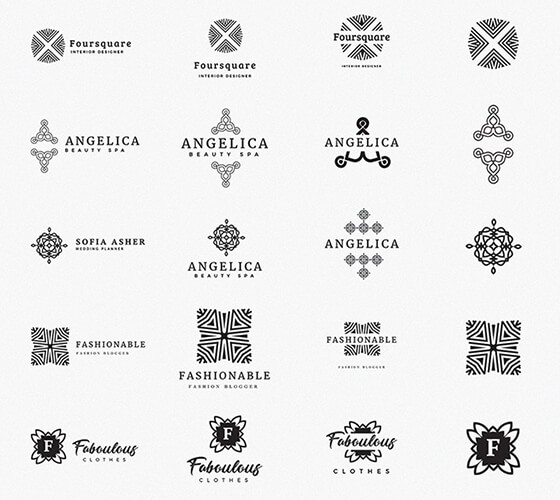 Kit Composição de logo #4