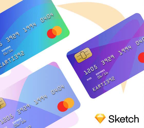 Mockup Cartão de Crédito Sketch