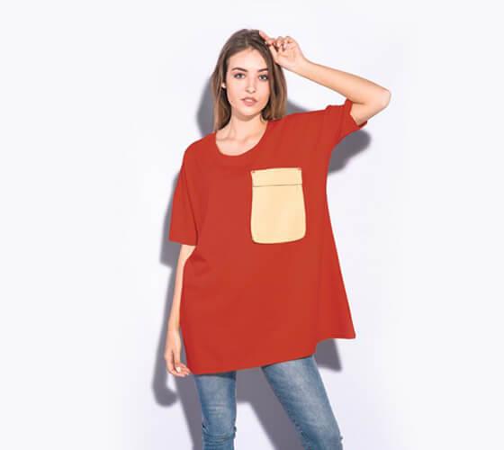 Mockup Camiseta feminina #8